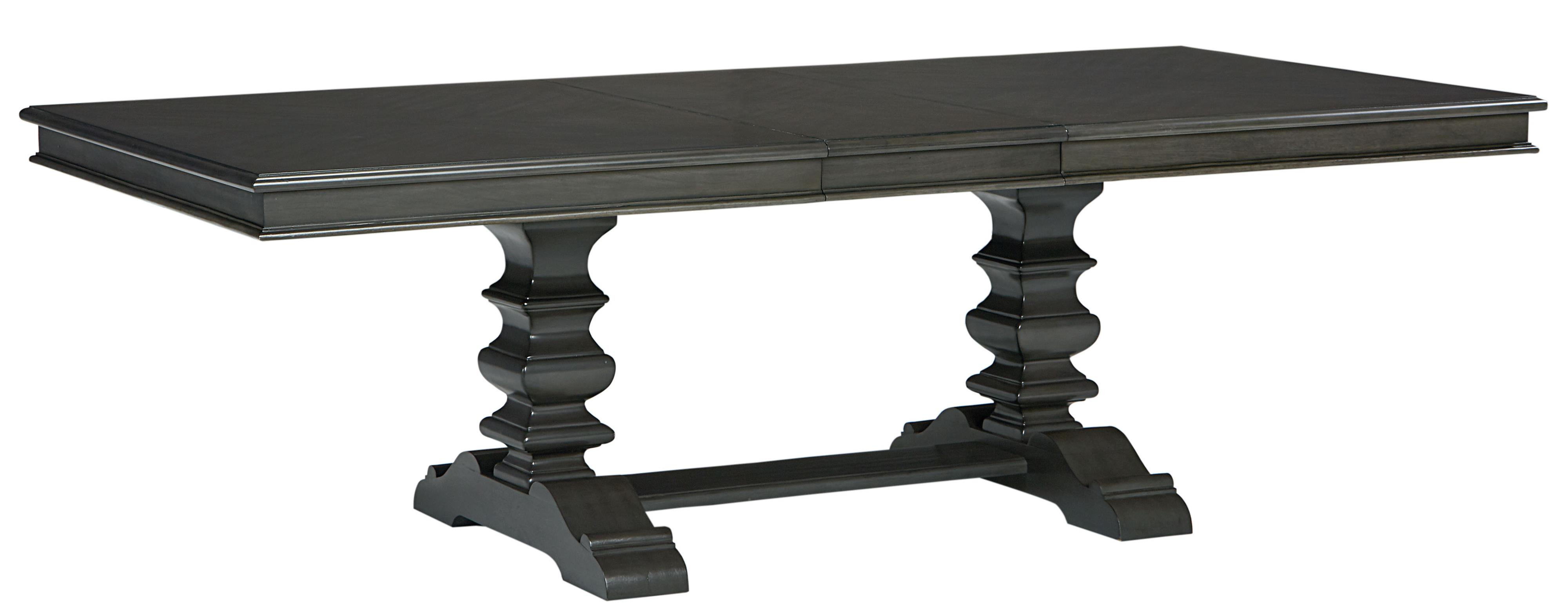 trestle dining table grey trestle dining table with smooth grey finish by standard 6376